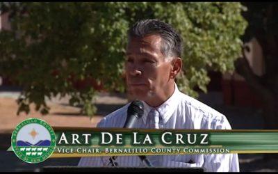 Video: Bernalillo County Receives Lung Champion Award