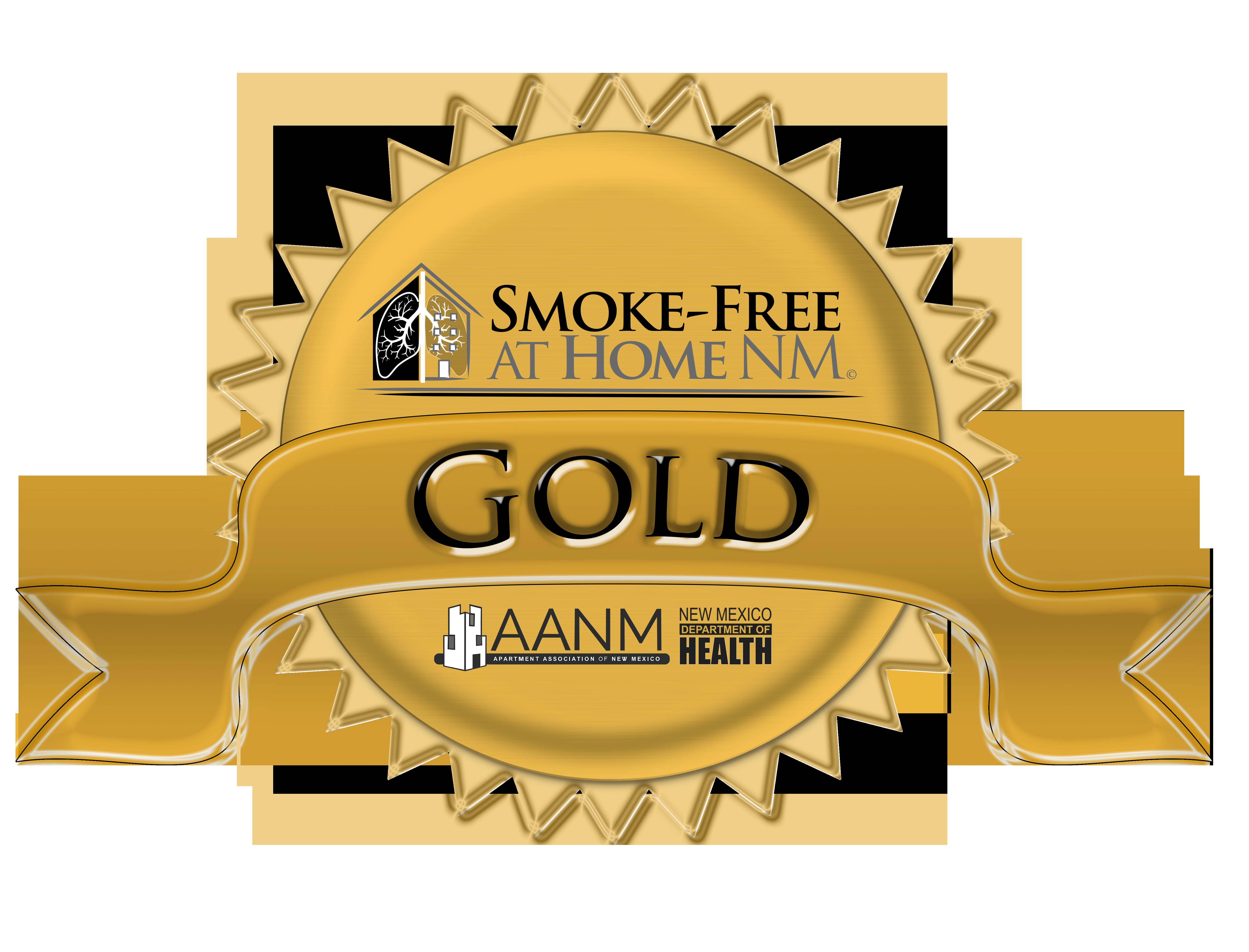 smoke-free gold award